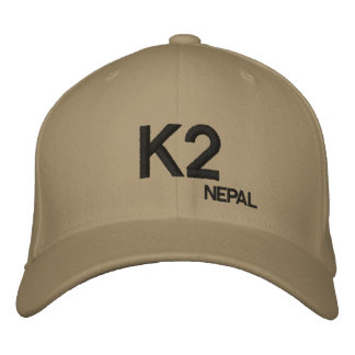 K2 Mountain Nepal Custom Hat Embroidered Baseball Cap