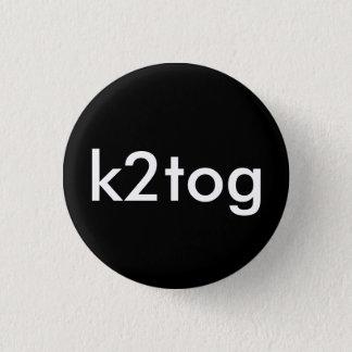 k2tog 1 inch round button