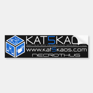 K5K Blue Bumper Sticker