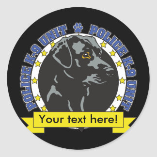 K9 Labrador Retriever Stickers