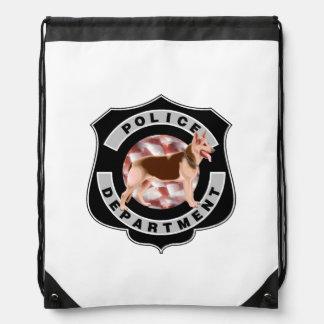 K9 Police Drawstring Bags