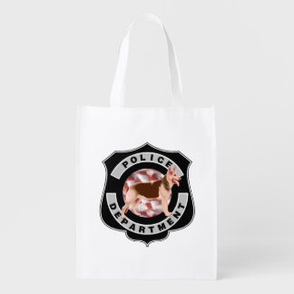 K9 Police Officers Grocery Bags