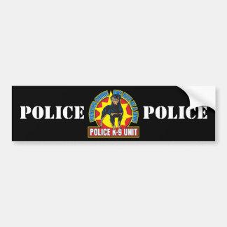 K9 Rottweiler Bite Bumper Sticker
