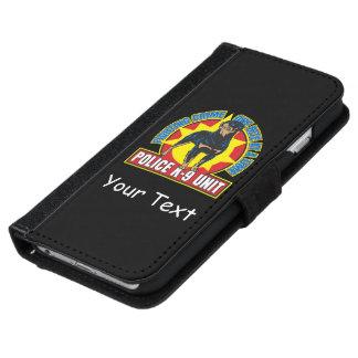 K9 Rottweiler Bite iPhone 6 Wallet Case