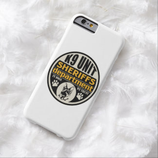 K9 Unit Sheriff's Department Barely There iPhone 6 Case