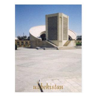 k-2, uzbekistan postcard