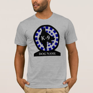 K-9 Police Dog Handler T-Shirt