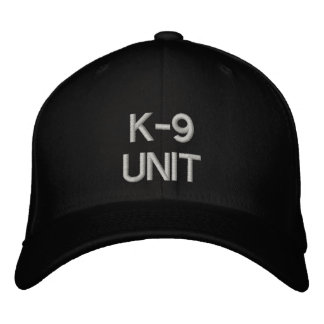 K-9 UNIT EMBROIDERED HAT