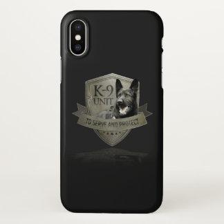 K-9 Unit GSD iPhone X Case