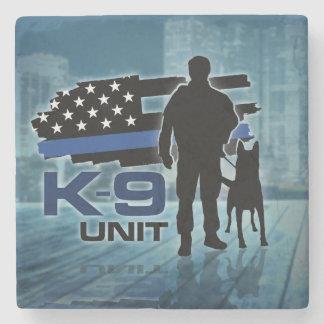 K-9 Unit  -Police Dog - Malinois Stone Coaster