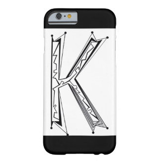 """K"" BARELY THERE iPhone 6 CASE"