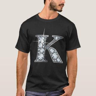 """""""K"""" Diamond Bling T-Shirt"""