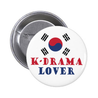 K-Drama Lover Button