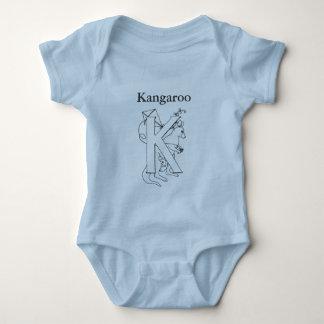 K is for Kangaroo Baby Bodysuit