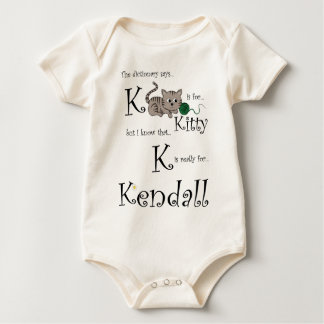 K is for Kendall, Kitty Tee