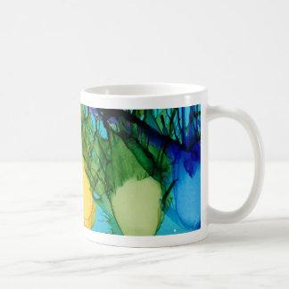 K is for Kiwi alphabet art mug
