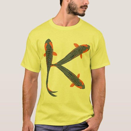 K is for Koi Men's TShirt
