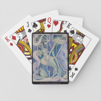 K is for Kraken Playing Cards
