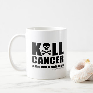 K*LL CANCER and the cell it rode in on Coffee Mug