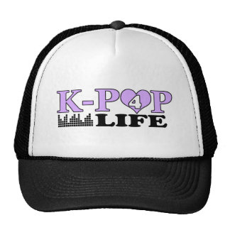K-POP 4 LIFE TRUCKER HAT