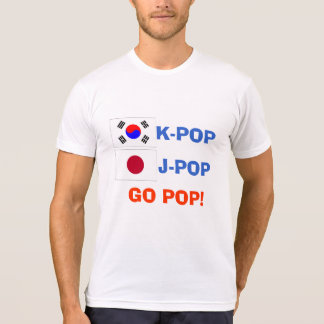 K-POP J-POP GO POP! T-shirt