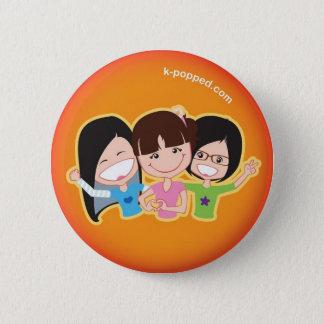 K-popped! Trio button