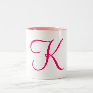 K Two-Tone COFFEE MUG