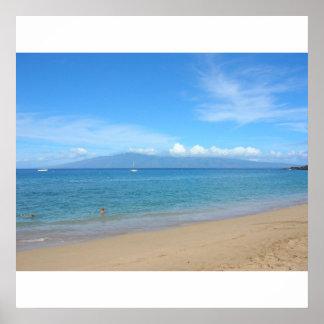 Kaanapali Beach, Maui Poster