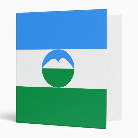 Kabardino-Balkaria Flag 3 Ring Binder