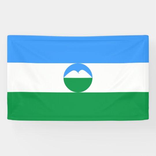 Kabardino-Balkaria Flag Banner