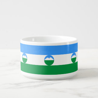 Kabardino-Balkaria Flag Bowl