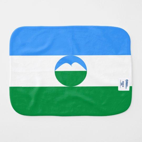 Kabardino-Balkaria Flag Burp Cloth