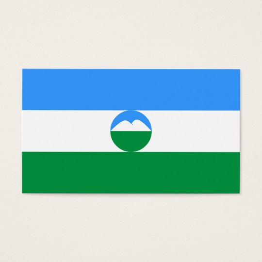 Kabardino-Balkaria Flag Business Card