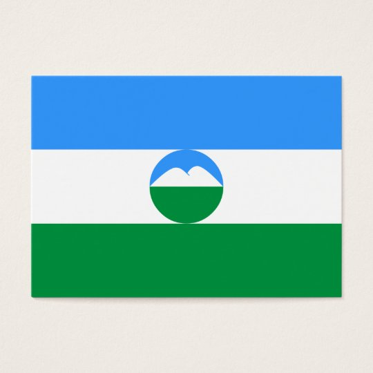 Kabardino-Balkaria Flag Business Card