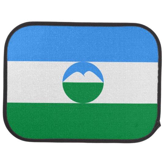 Kabardino-Balkaria Flag Car Carpet