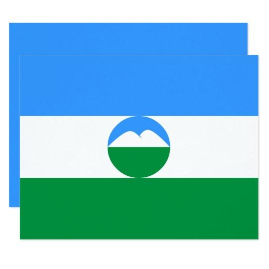 Kabardino-Balkaria Flag Card