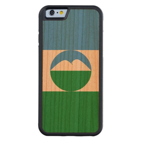 Kabardino-Balkaria Flag Carved Cherry iPhone 6 Bumper Case