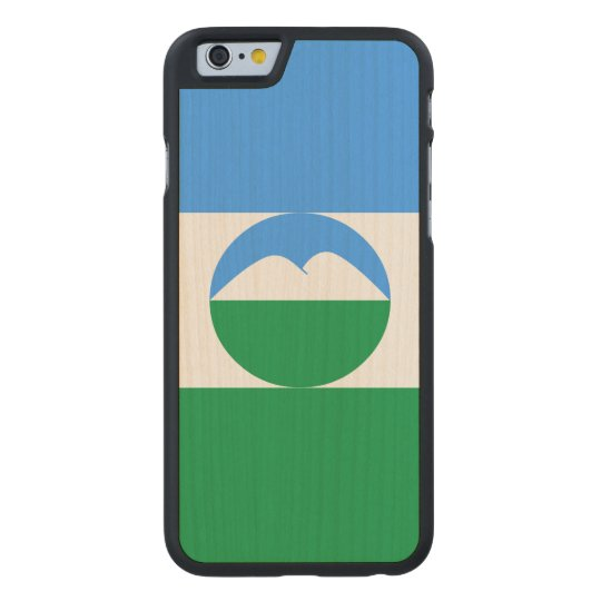 Kabardino-Balkaria Flag Carved® Maple iPhone 6 Case