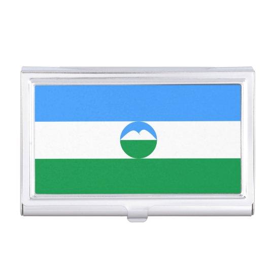 Kabardino-Balkaria Flag Case For Business Cards