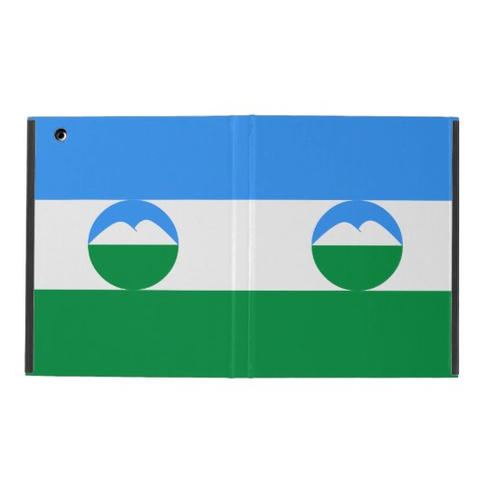 Kabardino-Balkaria Flag Cover For iPad