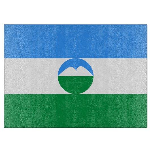Kabardino-Balkaria Flag Cutting Board