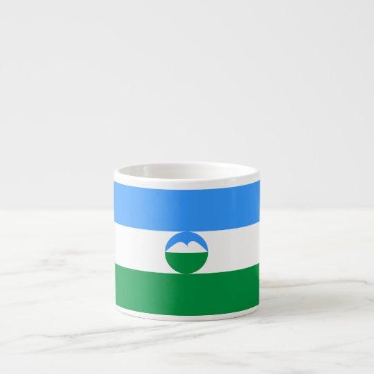 Kabardino-Balkaria Flag Espresso Cup