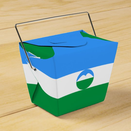 Kabardino-Balkaria Flag Favor Box