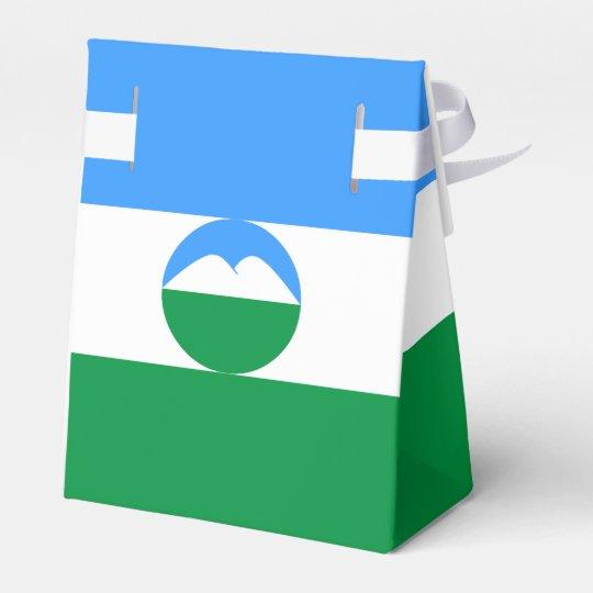 Kabardino-Balkaria Flag Favor Box
