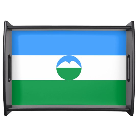 Kabardino-Balkaria Flag Food Tray