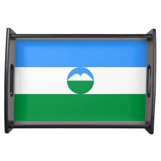 Kabardino-Balkaria Flag Food Trays