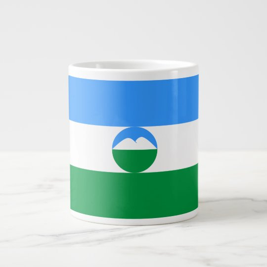 Kabardino-Balkaria Flag Giant Coffee Mug
