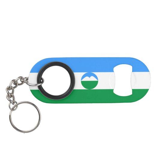 Kabardino-Balkaria Flag Keychain Bottle Opener