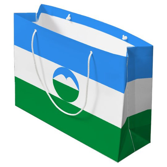 Kabardino-Balkaria Flag Large Gift Bag