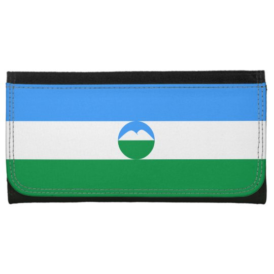 Kabardino-Balkaria Flag Leather Wallet